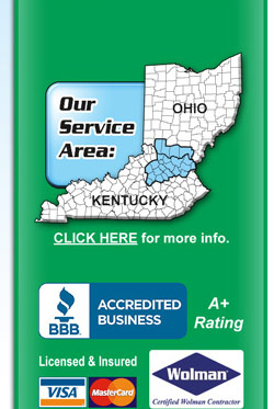 BBB A+ Rating, Licensed & Insured, Wolman